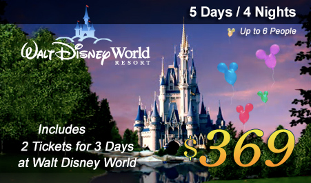Disney World Airtran Vacation Promotion - Disney trip deals