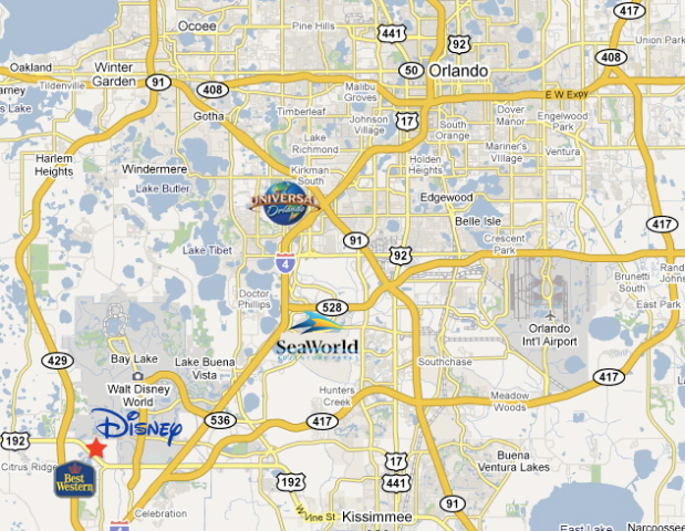 Best Western Lakeside Location Amp Map
