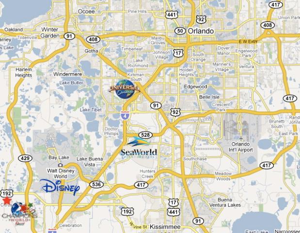 przedstawianie oficjalne zdjęcia całkiem tania Champions World Resort Location & Map