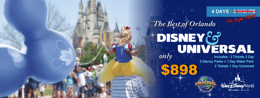 The Best of Orlando Vacation Package
