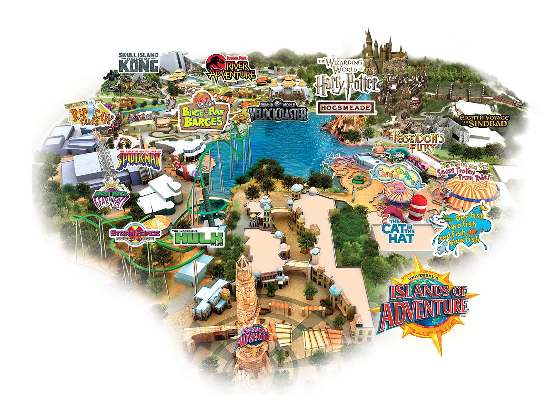 Islands Of Adventure At Universal Studios Islands Of Adventure
