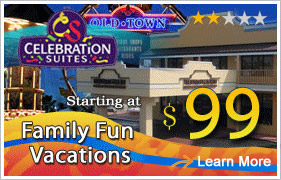 Celebration Suites at Old Town Orlando Vacation Packages