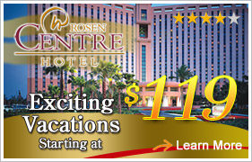Rosen Centre Orlando Vacation Packages
