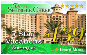 Shingle Creek Resort Orlando Vacation Packages