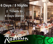 Disney Orlando Radisson Package