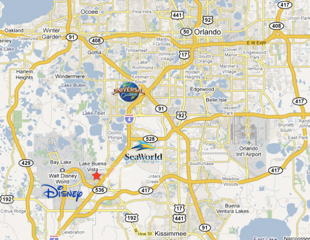 map of lake buena vista area Wyndham Garden Lake Buena Vista Resort Hotel Location Map map of lake buena vista area