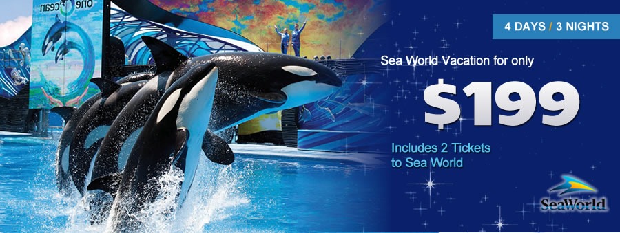 Sea World Vacaton Packages