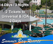 Universal Vacation Packages at Summer Bay Resort