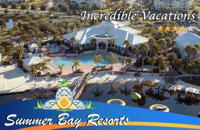 Disney World Vacations At Summer Bay Resort