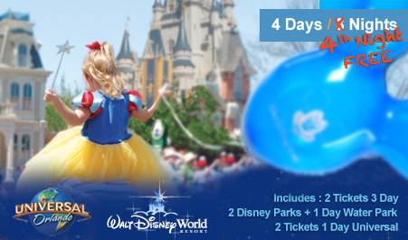 Disney World Hotel And Ticket Packages