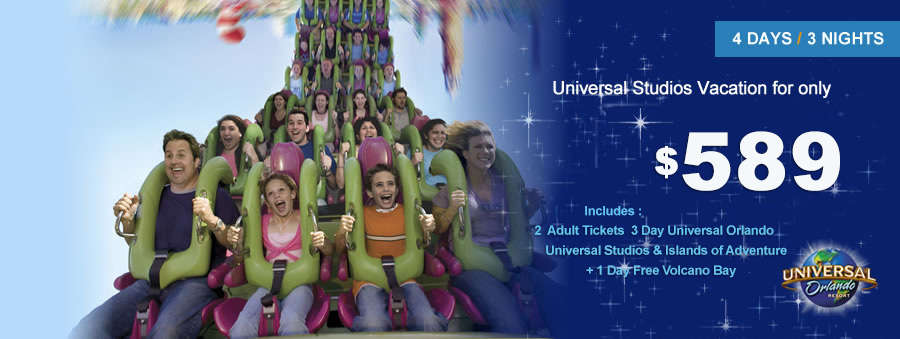 Universal Studios Vacation Packages