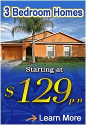 3 Bedroom Orlando Vacation Homes