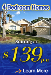 4 Bedroom Orlando Vacation Homes